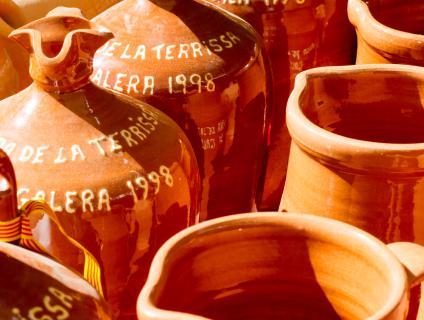 Peces commemoratives Fira de la Terrissa de la Galera